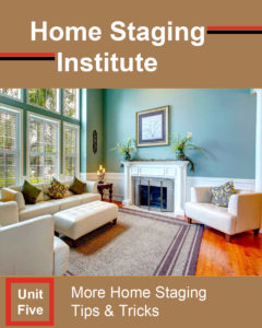 home staging certification unit five