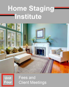home staging certification unit four