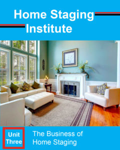 home staging certification unit three