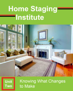 home staging certification unit two