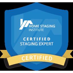 certified staging expert badge