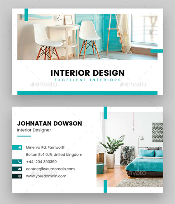 home staging business card template