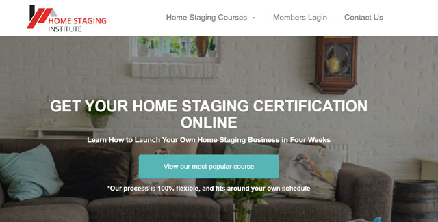 home staging certification website