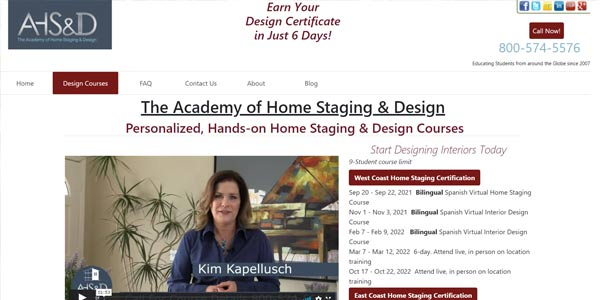 home staging courses near me