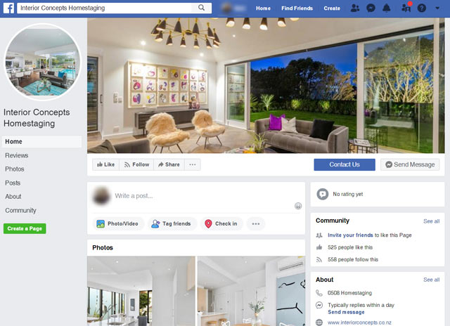home staging on facebook