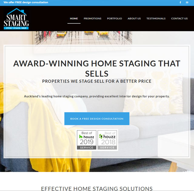 home staging website
