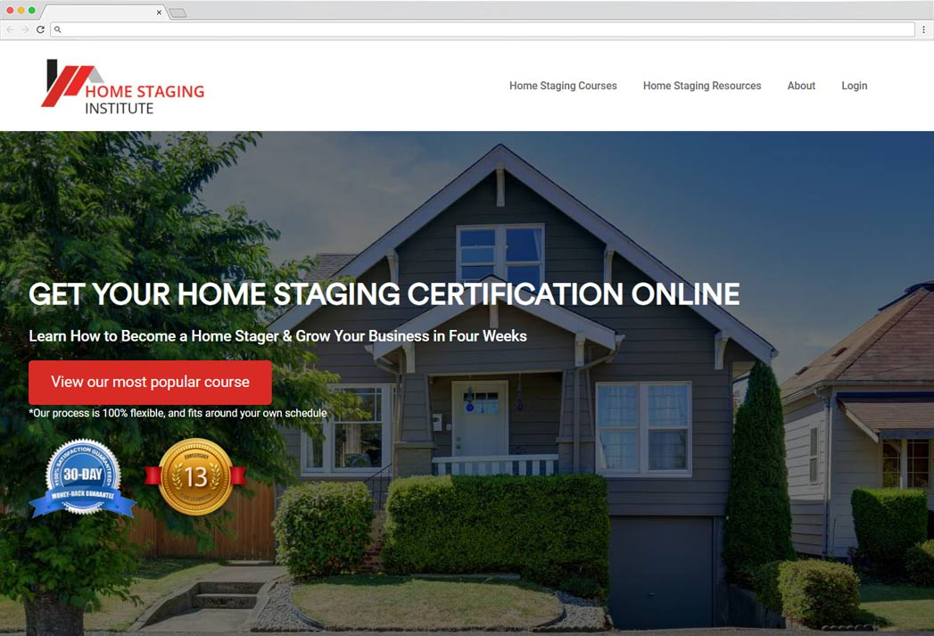 what does home staging certification cost