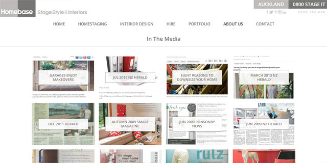 home staging in the media