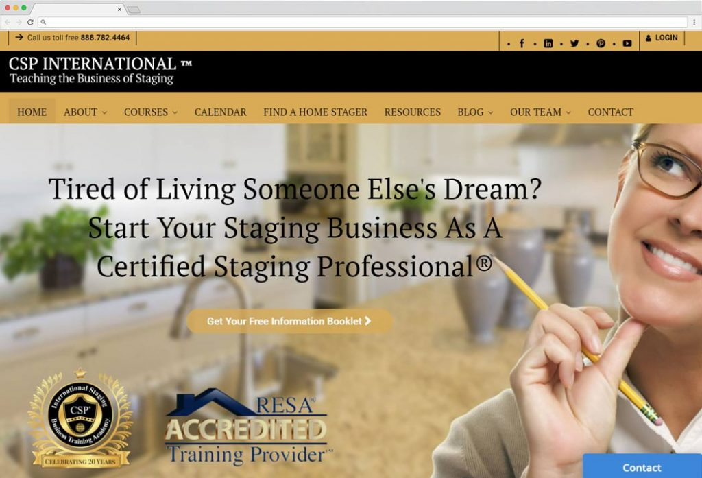 csp staging business academy